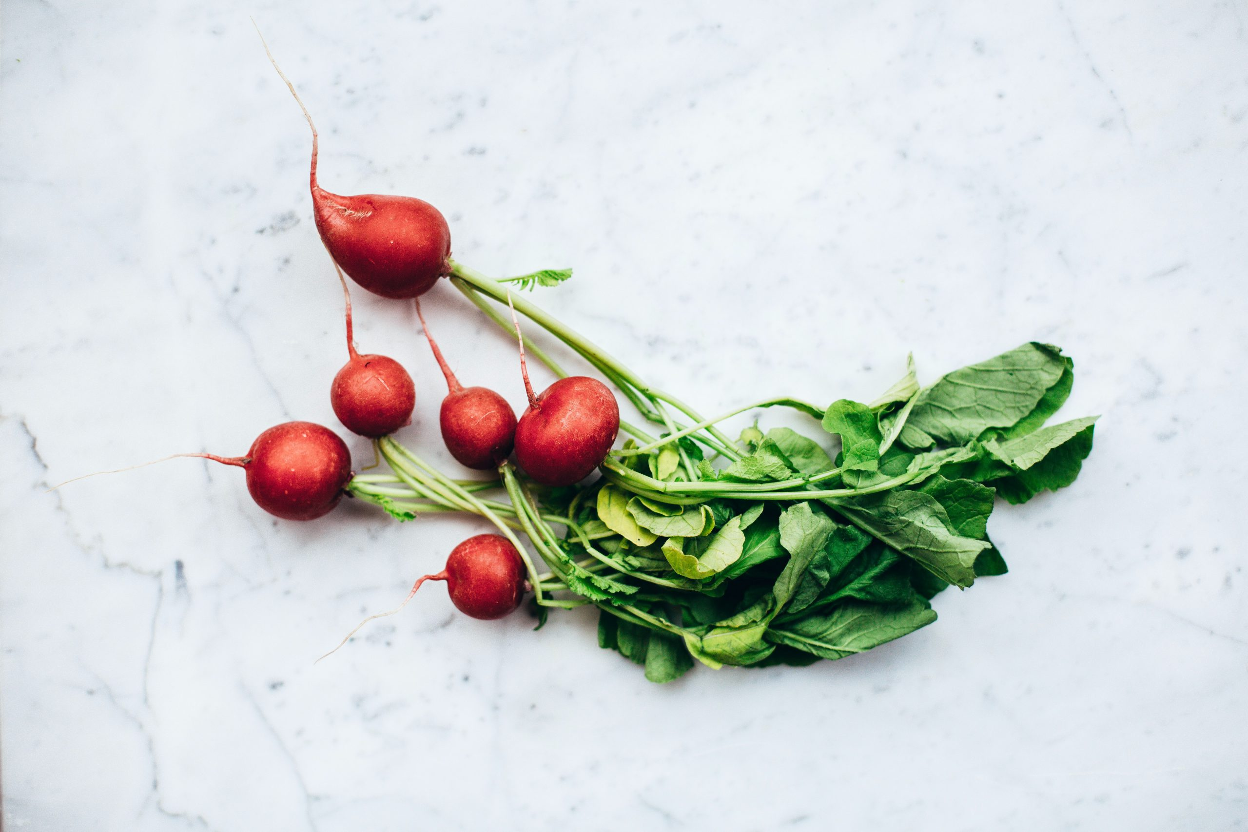 radishes perennial veggies