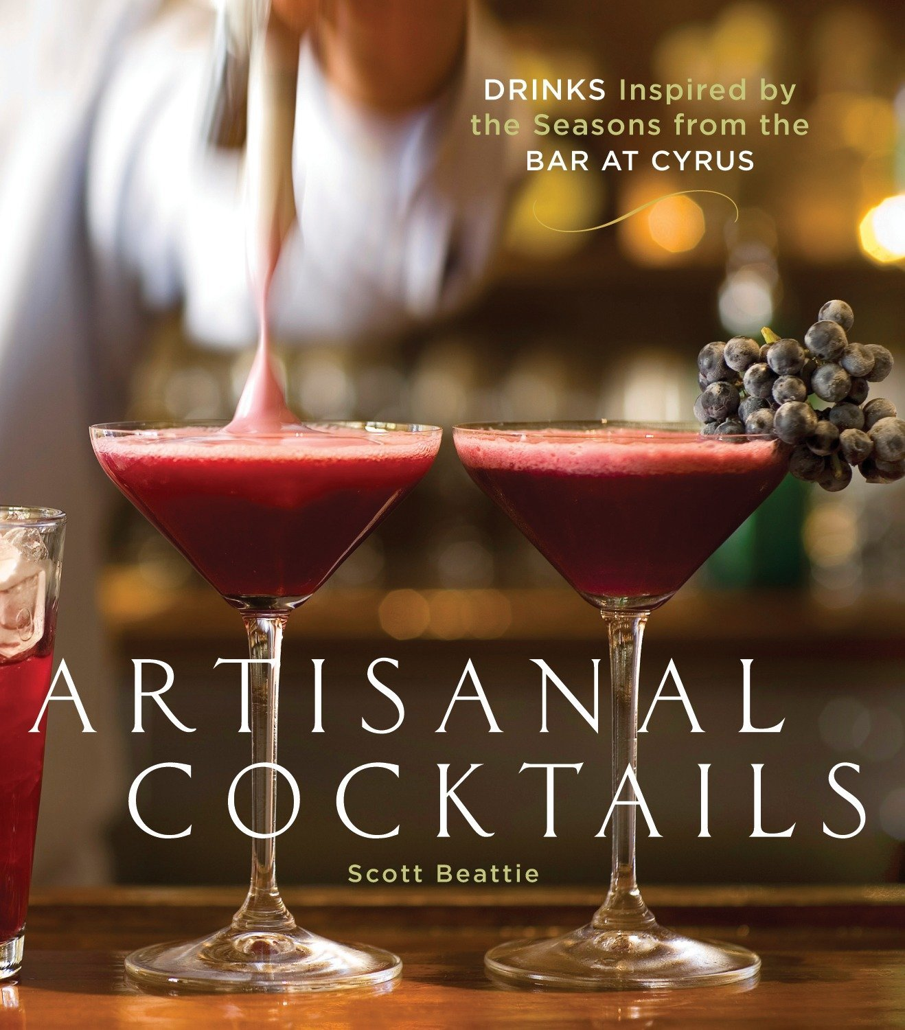 artisanal cocktails book cover