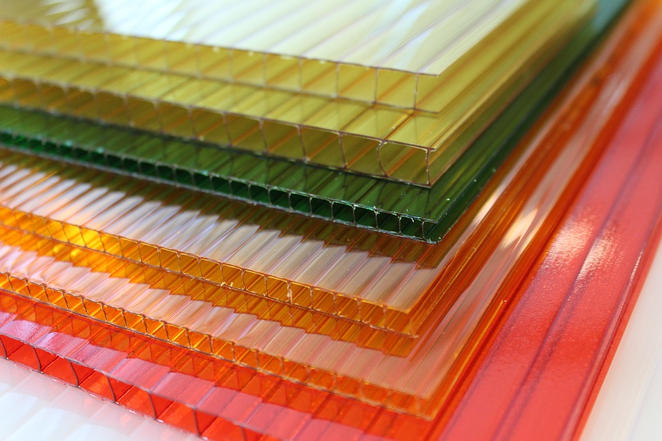 colorful polycarbonate sheets