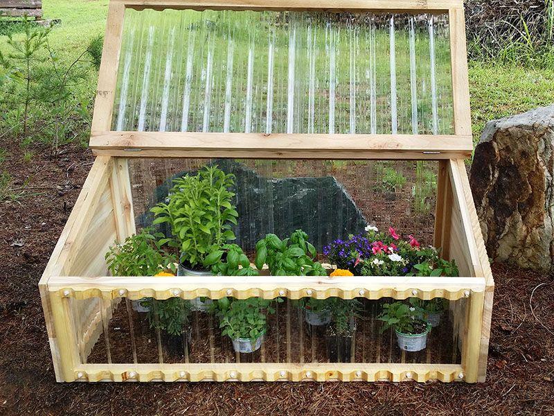 cold frame diy greenhouse