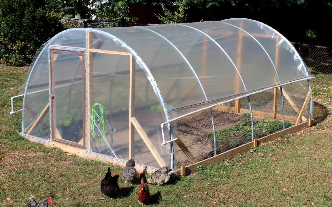 hoop houses greenhouse