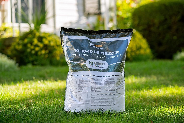 10 10 10 fertilizer on lawn