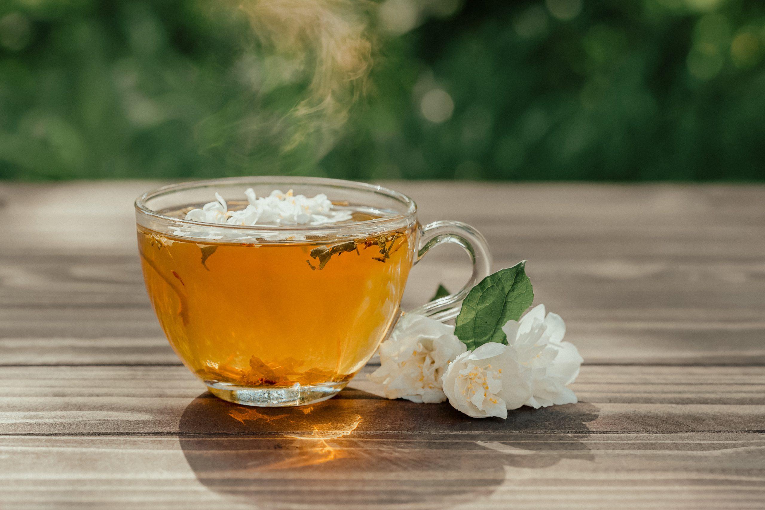 aromatic jasmine green tea